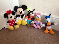 Disney Mickey Mouse soft toys