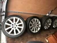 VW Transporter T5 Alloys Range Rover Supercharged 20 Alloy Wheels & 275/40/ZR20 Tyres