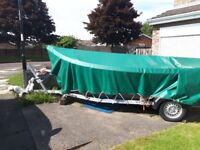 16ft Orkney Longliner Boat with Trailer