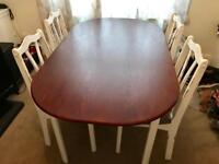 Dining Room Table and Chairs (4)