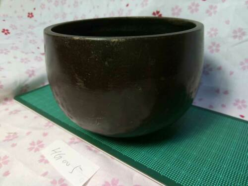 """4.054"""" Japanese Vintage Buddhist Copper Bell machine-pounded Forged HG005"""