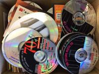 Box of around 200 cd's with music sample and demos