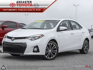 2014 Toyota Corolla S - TECHNOLOGY PACKAGE