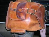 Large Leather Rucksack