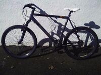 Raleigh AT20 aluminium frame mountain bike