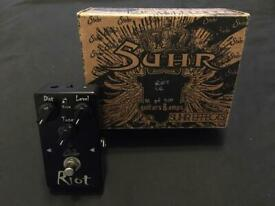 Suhr Riot limited black edition pedal Boutique Highend pedal