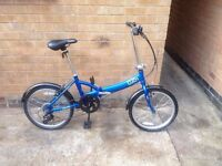 ADULTS FOLDING TOP SPEC MOUNTAIN BIKE IN MINT CONDITION