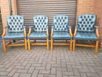 4x Chesterfield Gainsborough chairs. EXCELLENT CONDITION!BARGAIN!