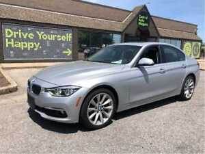 2017 BMW 3 Series NAVIGATION / AWD / SUNROOF / LEATHER