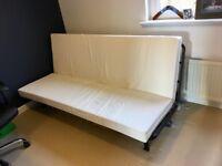 Excellent Condition IKEA 3-4 Seat Double Mattress Sofa Bed Futon - Non Smoking Home