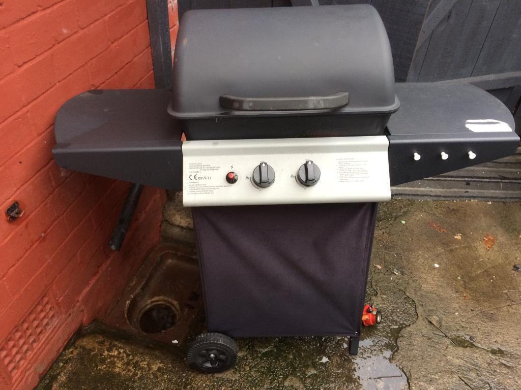 Barbecue gas