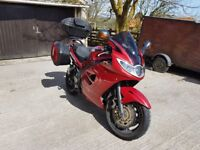 2006 - 56 reg Triumph Sprint ST 1050 with full genuine luggage and 12 Months MOT