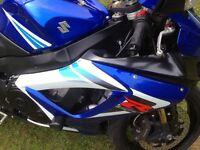 Suzuki 750 gsxr k6 blue/white