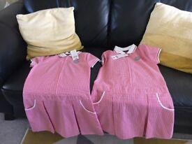 Girls school uniform and fur jackets and duvet set