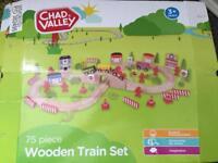 Chad Valley Wooden Train Set