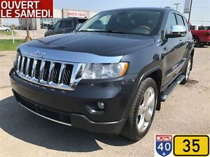 2012 Jeep Grand Cherokee OVERLAND,CRUISE ADAPTATIF,ENSEMBLE REMO