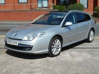 NEW SHAPE RENAULT LAGUNA 2.0 DCI DYNAMIQUE ESTATE + FSH