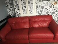 Red sofa like new swaps