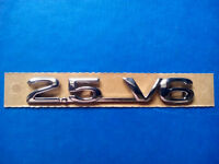 Vauxhall / Opel 2.5 V6 Boot Badge / Decal / Emblem BRAND NEW