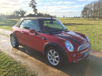 Mini Cooper Convertible 1.6 08 - 55k - FULL SERVIS HIST - SAT NAV - LEATHER
