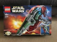 Lego 75060 Slave 1, Ultimate Collection Series USC, Complete, Boxed, collectible,