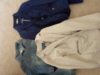 Three Size 12-14 jackets