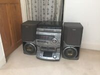Sony Hi-Fi System with turntable