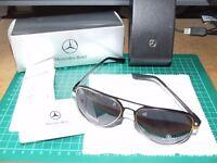 New Aluminium Mercedes Benz Sunglasses - UV400/Polaroid