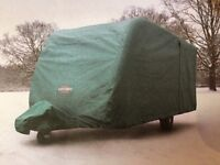 Specialised Caravan Cover For Swift Challenger Sport 586 Blue Tailored Breathable Cover