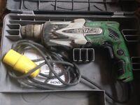 Rotary hammer hitachi drill