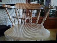 4 oak breakfast bar stools