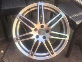"1x RS 19"" alloy wheel 5x112"