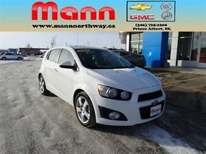 2016 Chevrolet Sonic LT-Remote Start, Heated Seats, Cruise Contr