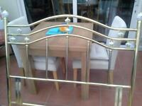 Brass Headboard for Double Bed