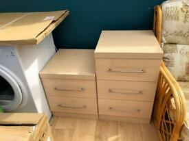 Chest of Drawers 3x reasonably clean condition