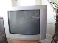 Television cathode ray tube crt old type, Philips 16.5 inch screen FREE collection only
