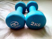 Fitness-Mad Neoprene Dumbbells Aerobic Weight Fitness Training (Pair)
