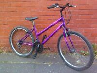 Apollo mountain bike - ready to ride .