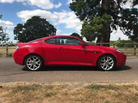 Hyundai Coupe Siii 2.0 red (includes 15 months warranty)