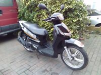 2013 Peugeot Tweet 125 scooter, new 1 year MOT, perfect runner, very good condition, bargain ,,,