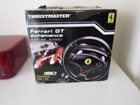 PS/PC Thrustmaster racing wheel
