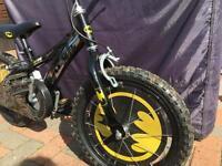 """Boys batman 16"""" bike"""