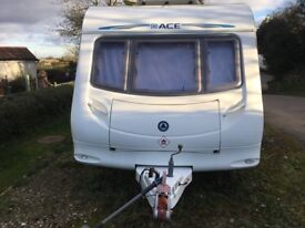 Ace Award Nightstar, 2008, 5 Berth, fitted motor mover, excellent condition.
