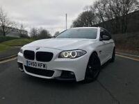 2011 White BMW 520d M sport M performance efficient dynamics F10 F11