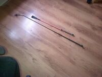 riding crops x 2 best picked up but will post if buyer pays