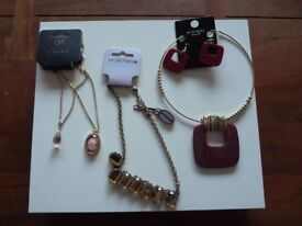 Lot Costume Jewellery New with Tags