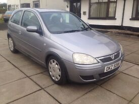 2004 CORSA 1.2 PETROL,,LOW MILES,,,,PRICE;£ 1190 ONO PX/EXCH