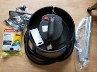 henry Numatic NVH200-2 Vacuum Cleaner new 3 Metre Hose new Brushes new Rods