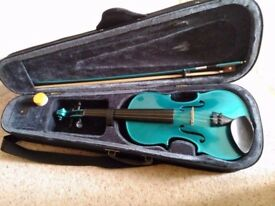 Full size 4/4 violin with case