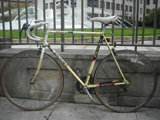 Raleigh Kellogs ProTour 12speed Road Bike Handbuilt Reynolds 501 Lightweight Steel XL 25''/63cm.